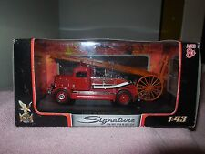 signature series 1938 dennis light four diecast firetruck