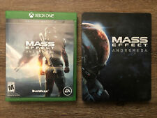 Mass Effect: Andromeda — Deluxe Edition + *RARE* SteelBook (Xbox One, 2017)