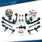 4WD Front Wheel Bearing Hub Control Arm for Chevy GMC Suburban Sierra 1500 Truck