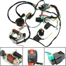 CDI Wire Harness Wiring Loom Coil Rectifier Kit For 50cc-110cc ATV Quad Pit Bike
