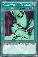 YU-GI-OH CARD: MALEVOLENT NUZZLER - YS15-ENY16 - 1st EDITION