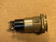 Large Vintage Pilot Lamp Dialco AC Indicator Light for Tube Amplifier NO LENS