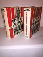 Histoire de l'Allemagne des origines à nos jours par Peter Rassow. 2 volumes