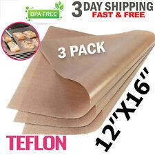 3 Pack Ptfe Teflon Transfer Sheets For Heat Press Non Stick Reusable Craft Paper