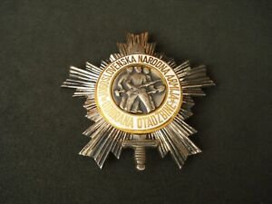 Yugoslavia, Order of the People's Army with Silver Star, III class, silver