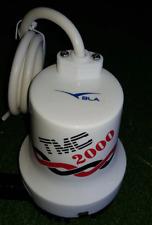 TMC 2000 - Highbanker and sluice Bilge Pump 2000 GPH