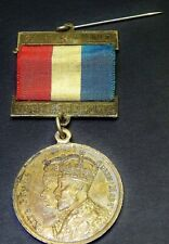 Coronation Medal King George V & Queen Mary 1911 W.A. Red White Blue Ribb 520