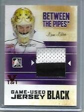 Liam Liston 10/11 ITG Between The Pipes Game Used Jersey Patch #1/1