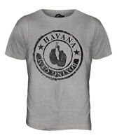 HAVANA BOXING GYM MENS FASHION T-SHIRT VINTAGE PRINT TOP BOXER GLOVES TRENDY
