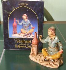 "Fontanini ""Andrew"" The Potter 5"" Figure (1998) Boxed"