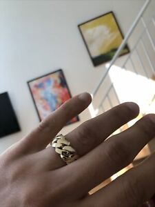 20 gram 14k Pure Gold Miami Cuban Ring - Size 8 (and other sizes upon request)