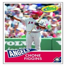 Chone Figgins 2006 eTopps Card In Portfolio