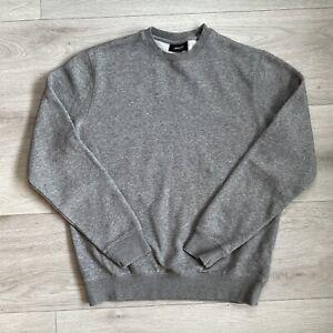 Armani Jeans Sweatshirt Jumper Size Large Mens Grey Pullover