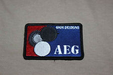 AEG Logo - Airsoft Patch