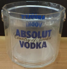 ABSOLUT VODKA ORIGINAL MINI PLASTIC ICE BUCKET