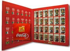 COCA - COLA FOOTBALL FIGURES SET OF 24 MICROSTARS LIKE SOCCERSTARZ