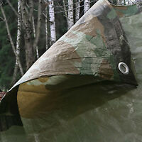 2.7m x 3.5m kids armée camouflage bâche-imperméable camouflage bâche-den making