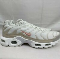 Nike Women's Air Max Plus Summit White Bleached Coral Sand CQ9974-100 Size 9 NEW
