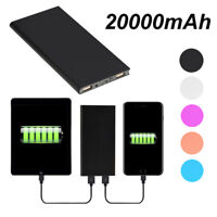 Ultra Thin 20000 mAh Portable External Battery -Power Bank for Cell Phone