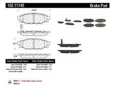 C-TEK Metallic Brake Pads fits 2005-2009 Subaru Outback Legacy Forester  C-TEK B