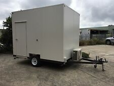 . NEW - Mobile Trailer - Portable Room / Lunch Room / First Aid Station / Office