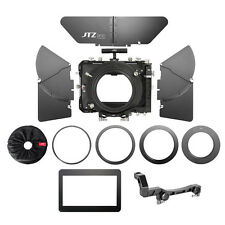 "US JTZ DP30 4x4"" Carbon Fiber Matte Box 15mm/19mm for ARRI RED DSLR Cine Camera"