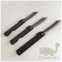 HIGONOKAMI Japanese Style Blade Folding Pocket neck Knife M L XL Blade