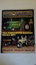 NTPA THE PULLER JULY 2003,THE 2003 SEASON KICK OFF