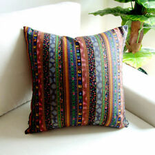 Cotton Blend Striped Decorative Cushions & Pillows