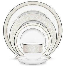 Noritake China Montvale Platinum 60Pc China Set, Service for 12