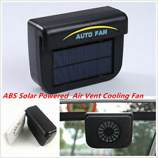 Solar Powered Car Window Windshield Auto Air Vent ABS Cooling Fan System Cooler