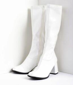 Stylish Women Ladies Fancy Dress Party Go Go Boots Retro UK Sizes