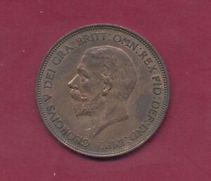 """GB 1936 """"Sitzende Britannia"""" 1 Penny P.313  TT6330 Erh. vz++"""