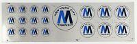 Vintage New York City MTA Transit Vinyl Decals