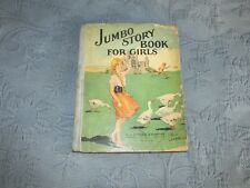 Antique Children's Jumbo Story Book for Girls, M.A. Donohue & Company