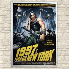 Original Movie Posters 100x140 cm - 1997 Fuga Da New York - Escape from New York