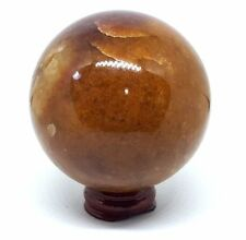 "Golden  ""Healer""  Quartz Shamans Crystal Ball Divination Sphere 70mm 460g  gq1"