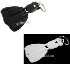 Scubapro Seawing Nova Fin Scuba Diving Dive Keychain Keyring (Black + White)