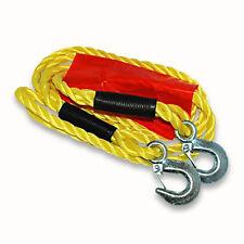 Abschleppseil mit Warnflagge 1800 Kg Pannenhilfe Seil Abschleppen Starthilfe b31