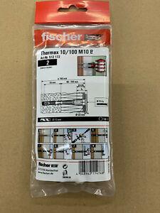 FISCHER Thermax Dübel Wärmeverbundsysteme Aussenisolierung 10/100 M 10 B 2stk