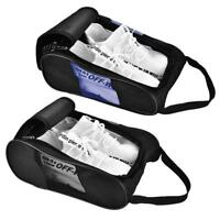 Portable Golf Shoes Bag Double Zipper Sports Shoes Case BT