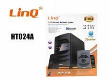 Kit Dolby Sorround Home Theater 2.1 Cassa Bluetooth Speaker Usb Linq HT-024A