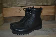 Men's Timberland Black Leather Ankle Boots – 30556 – Size 11 W