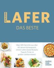 Johann Lafer Sachbücher als gebundene Ausgabe