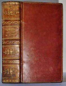 The Improvement of the Mind by Isaac Watts, 1817 - VG+ copy full polished calf