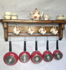 wooden pan rack