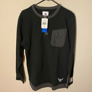 Adidas x White Mountaineering WM Long Sleeve Shirt Black Thermal BQ4115 S M $100