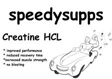 Creatine HCL CREATINE HYDROCHLORIDE 50grams same as con cret ships from Aust