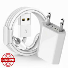 Charger for Apple iPhone ipad 7 8 Plus 6 6S PLUS X XR XS Max 5 5S SE EU + USB 1M