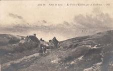 VALLEE D'EQUIHEN 3671 salon de 1909 peinture d'A. Guillemet timbrée